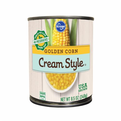 Kroger® Cream Style Golden Corn Perspective: front