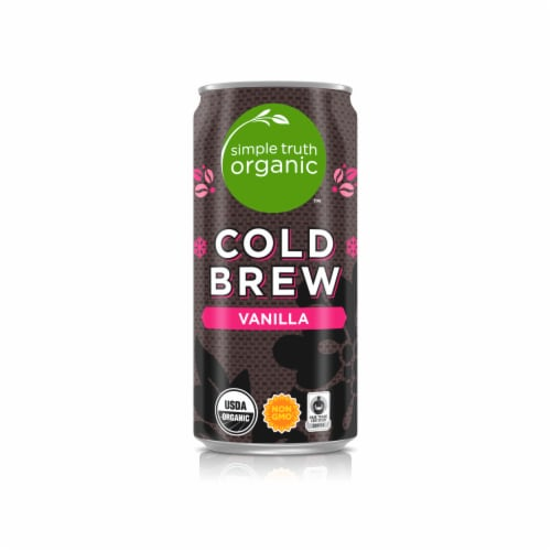 Simple Truth Organic™ Cold Brew Vanilla Arabica Coffee Perspective: front