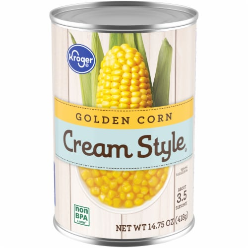 Kroger® Cream Style Golden Corn Perspective: front