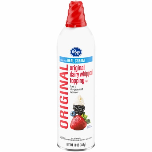 Kroger® Original Dairy Whipped Topping Perspective: front