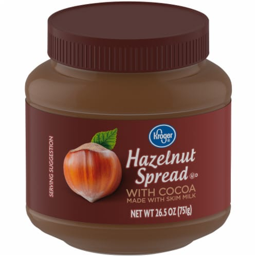 Kroger® Hazelnut Spread with Cocoa Perspective: front