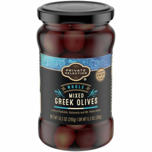 Private Selection® Whole Mixed Greek Olives Perspective: front