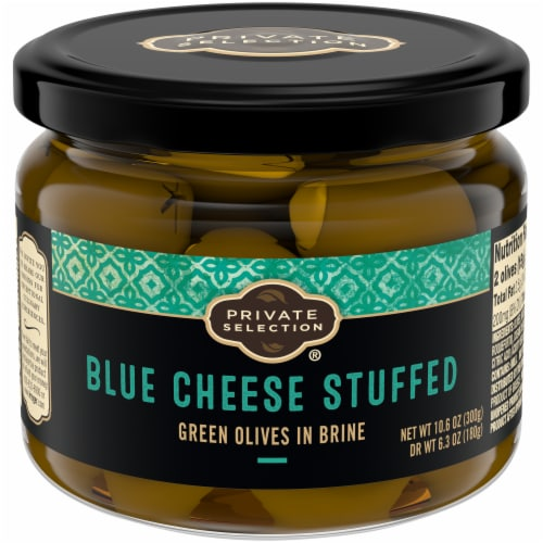 Private Selection® Blue Cheese Stuffed Olives Perspective: front