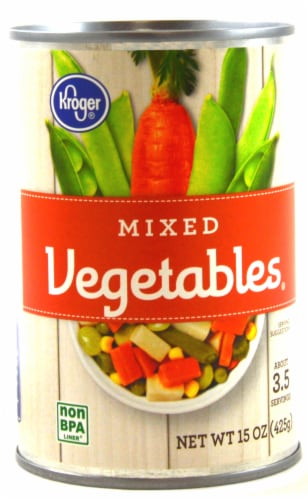 Kroger® Mixed Vegetables Perspective: front