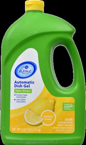 Kroger® Home Sense® Lemon Scent Automatic Dish Gel Perspective: front