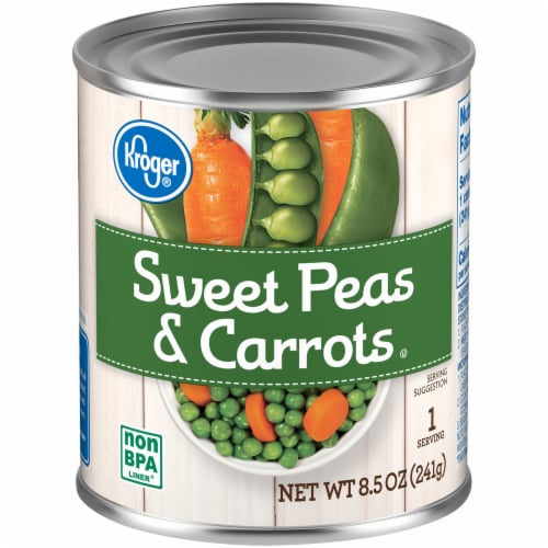 Kroger® Sweet Peas & Carrots Perspective: front