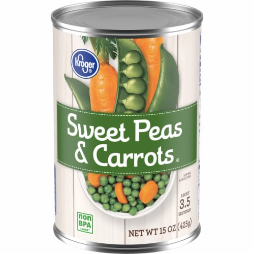 Kroger® Sweet Peas & Carrots Perspective: front