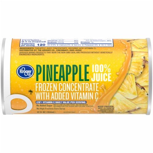 Kroger® Frozen 100% Pineapple Juice Perspective: front