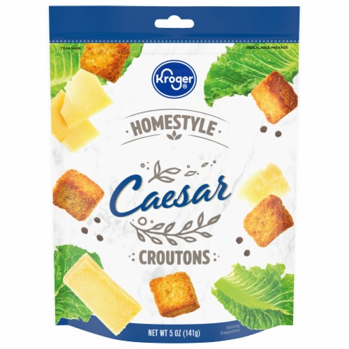 Kroger® Homestyle Caesar Croutons Perspective: front