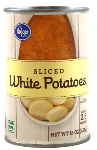 Kroger® Sliced White Potatoes Perspective: front