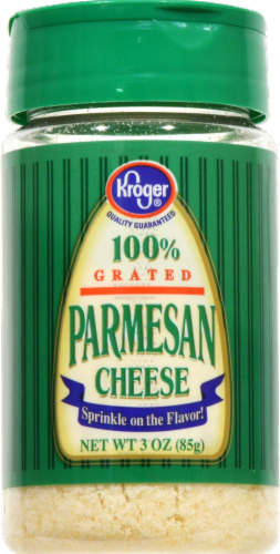 Kroger® 100% Grated Parmesan Cheese Perspective: front