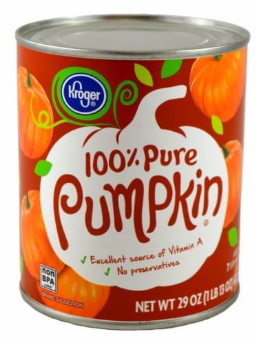 Kroger® 100% Pure Pumpkin Perspective: front