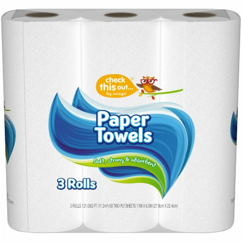 check this out...™ Paper Towels Perspective: front