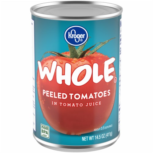 Kroger® Whole Peeled Tomatoes Perspective: front