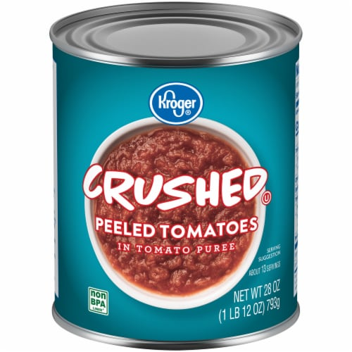 Kroger® Crushed Peeled Tomatoes Perspective: front