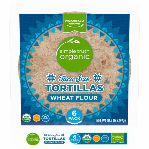 Simple Truth Organic™ Wheat Flour Tortillas Perspective: front
