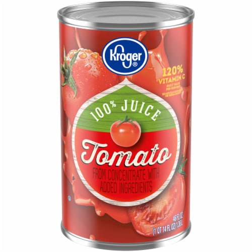 Kroger® Tomato Juice Perspective: front