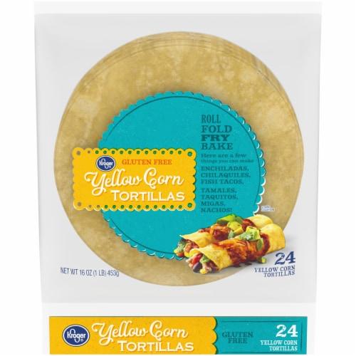 Kroger® Yellow Corn Tortillas Perspective: front