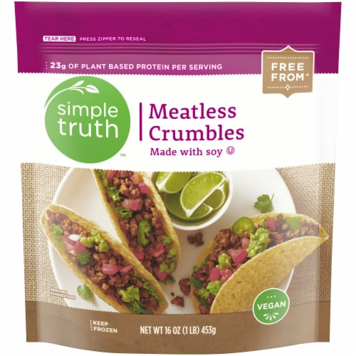 Simple Truth™ Meatless Crumbles Perspective: front
