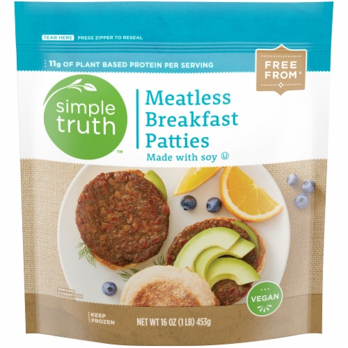 Simple Truth™ Meatless Breakfast Patties Perspective: front