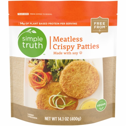 Simple Truth™ Meatless Crispy Patties Perspective: front