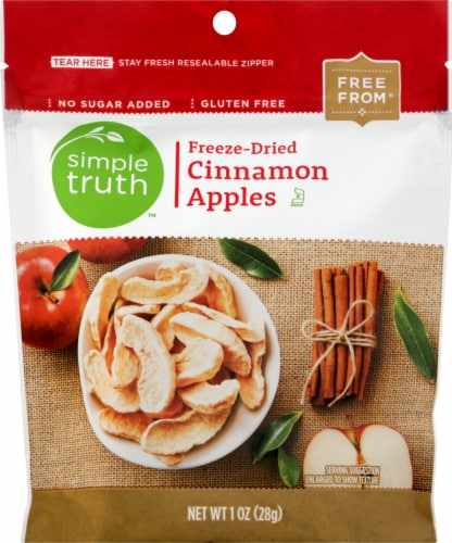 Simple Truth™ Freeze-Dried Cinnamon Apples Perspective: front