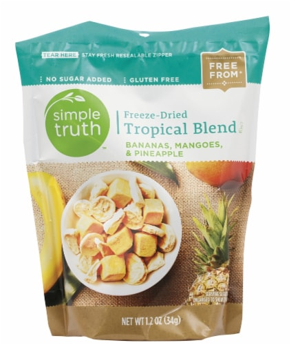 Simple Truth™ Freeze-Dried Tropical Blend Perspective: front