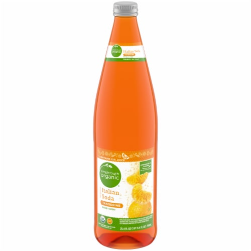 Simple Truth Organic® Tangerine Italian Soda Perspective: front