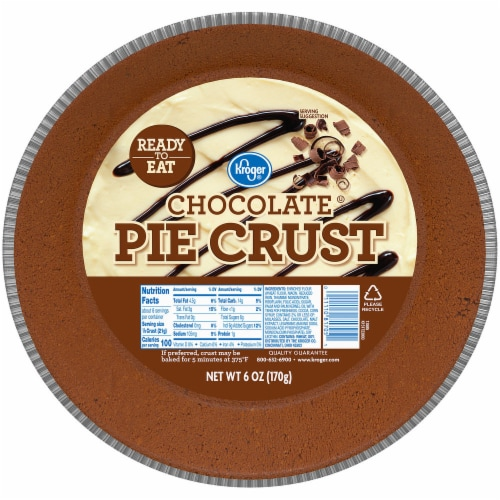 Kroger® Chocolate Pie Crust Perspective: front