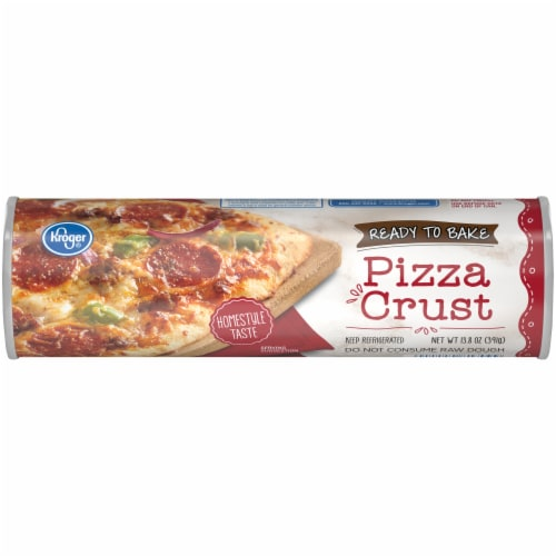 Kroger® Homestyle Ready to Bake Pizza Crust Perspective: front