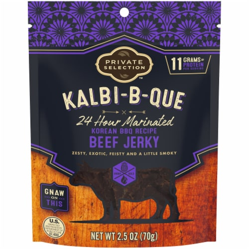 Private Selection™ Kalbi-B-Que Korean BBQ Recipe Beef Jerky Perspective: front