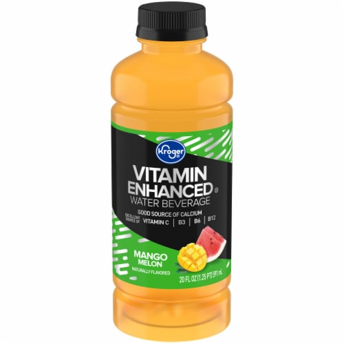 Kroger® Mango Melon Vitamin Enhanced Water Perspective: front