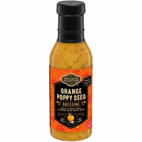 Private Selection® Orange Poppy Seed Dressing Perspective: front
