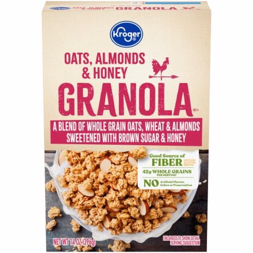 Kroger® Whole Grain Oat & Honey Granola Perspective: front