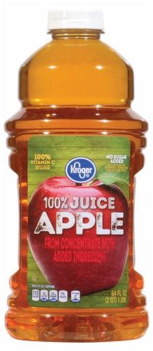 Kroger® 100% Apple Juice Perspective: front