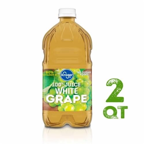 Kroger® 100% White Grape Juice Perspective: front
