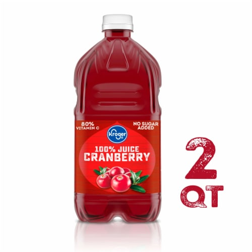 Kroger® Traditional Cranberry Juice Perspective: front