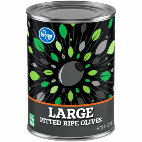 Kroger® Large Pitted Ripe Olives Perspective: front
