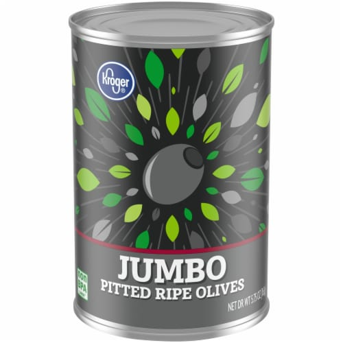 Kroger® Jumbo Pitted Ripe Olives Perspective: front