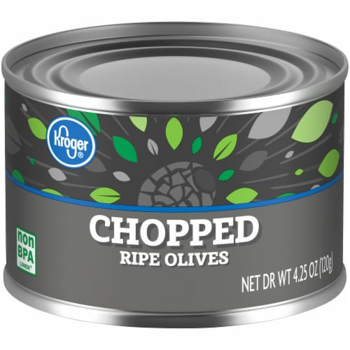 Kroger® Chopped Ripe Olives Perspective: front
