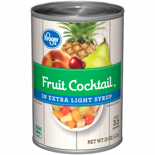 Kroger® Fruit Cocktail in Extra Light Syrup Perspective: front