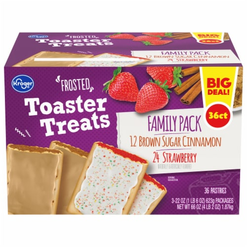 Kroger® Frosted Toaster Treats Variety Pack Perspective: front