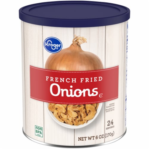 Kroger® French Fried Onions Perspective: front