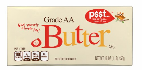 p$$t... Grade AA Butter Perspective: front