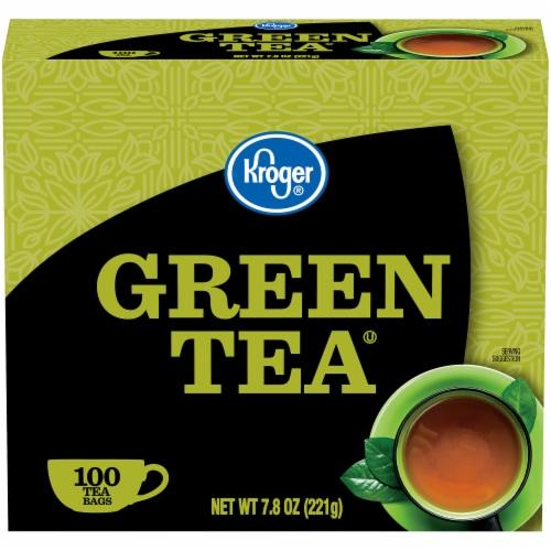 Kroger® Green Tea Bags Perspective: front
