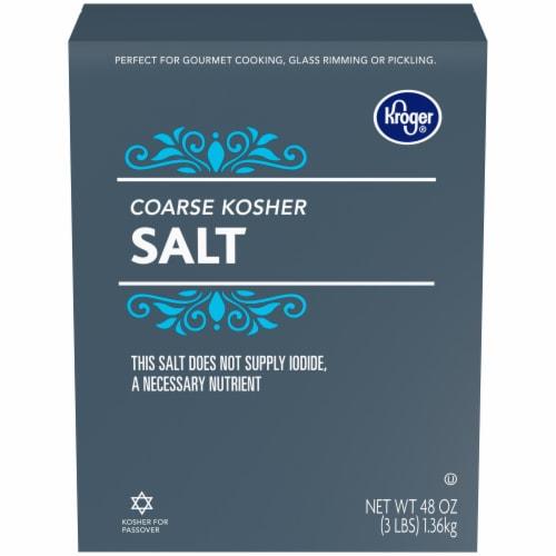 Kroger® Coarse Kosher Salt Perspective: front