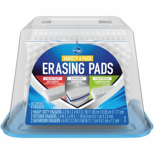 Kroger® Erasing Pads Variety Pack Perspective: front