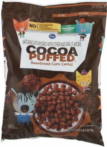 Kroger® Cocoa Puffed Cereal Perspective: front