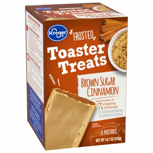 Kroger® Frosted Brown Sugar Cinnamon Toaster Treats Perspective: front