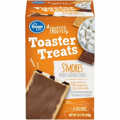 Kroger® Frosted S'Mores Toaster Treats Perspective: front